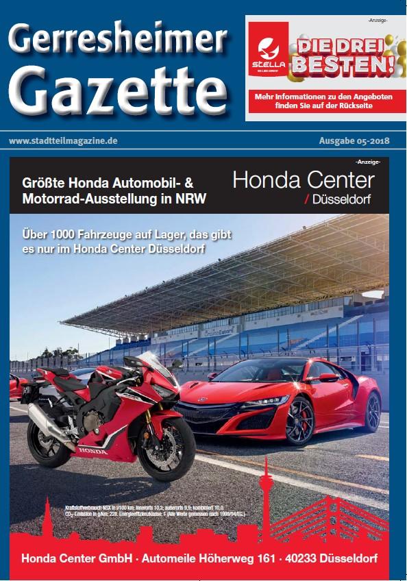 Gerresheimer Gazette 05-18