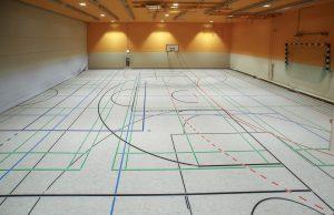 Tiefergelegte Sporthalle – Kreativer Neubau am Goethe-Gymnasium