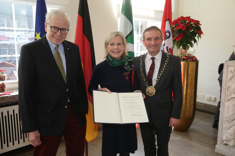 Ein großes Engagement – Bundesverdienstkreuz für Brita Siebke-Holzapfel