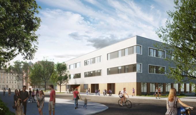 Neues Haus der Jugend – Neubau an der Lacombletstraße