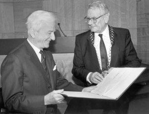 100. Geburtstag des Heine-Preisträgers Richard von Weizsäcker