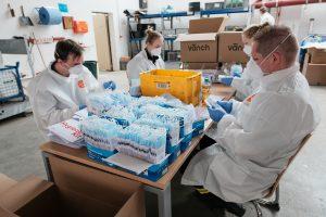 Hygiene-Kits im ÖPNV