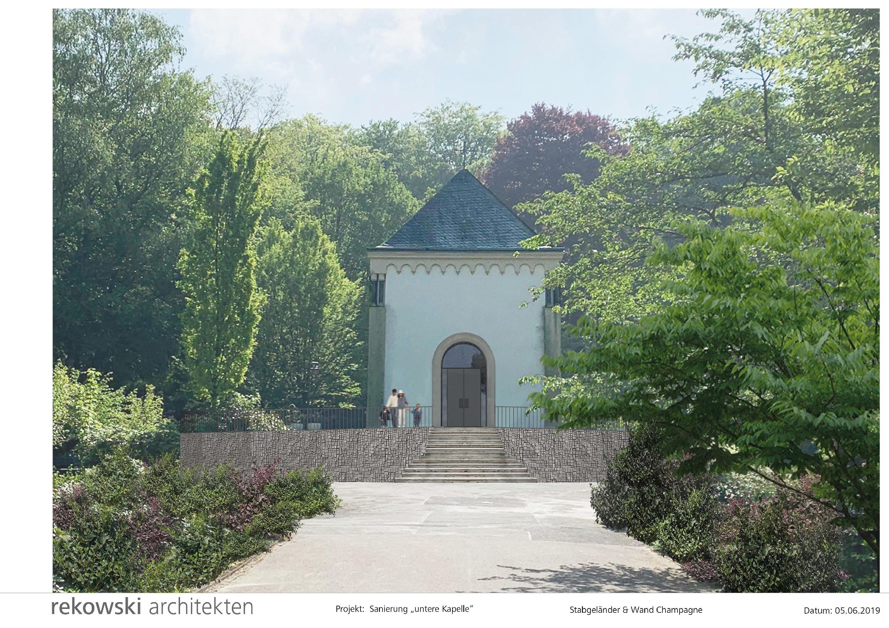 Untere Kapelle des Gerresheimer Friedhofs soll saniert werden