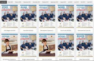 Jetzt online: Die April-Ausgabe der Stadtteilmagazine