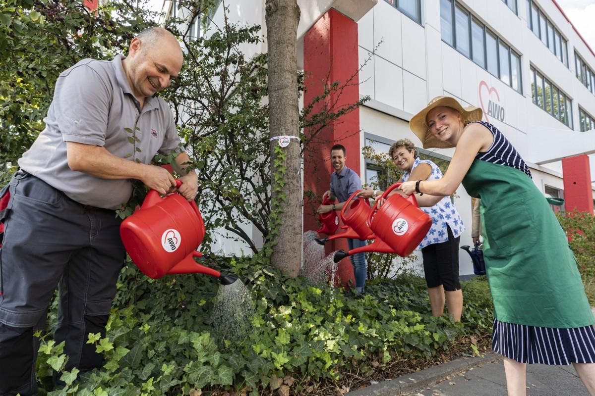 """""""Ein AWO-Herz für Bäume"""""""