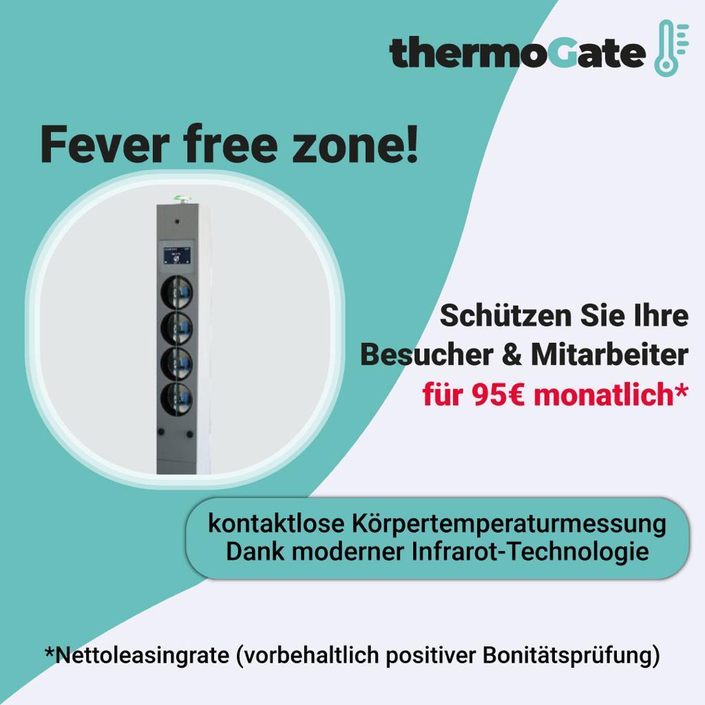 Kontaktlose Kontrolle dank dem Thermogate (Anzeige)