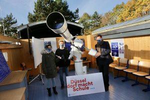 Benzenberg-Sternwarte am Schloß-Gymnasium Benrath feiert Wiedereröffnung